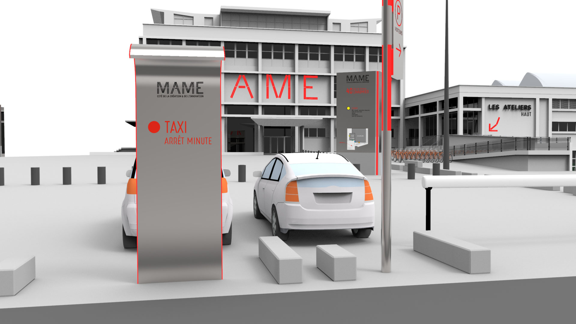 MAME_Extérieur_Panneau Taxi